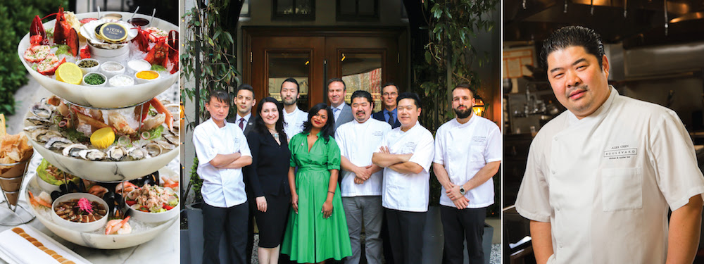 CULINARY TRIPLE CROWN: BOULEVARD KITCHEN & OYSTER BAR NETS THREE MAJOR WINS AT 2018 VANCOUVER MAGAZINE RESTAURANT AWARDS