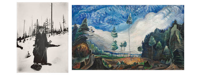 The Vancouver Art Gallery presents Emily Carr in Dialogue with Mattie Gunterman