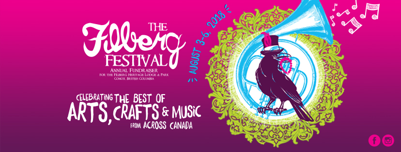 Celebrate the Best of Arts, Crafts and Music from across Canada August 3-6, 2018 at the Filberg Festival
