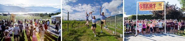 Celebrate the 10th annual Half Corked Marathon in Oliver Osoyoos Wine Country