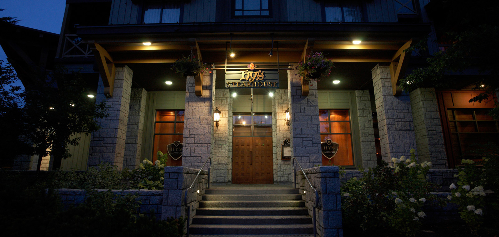 Hy's Steakhouse is celebrating 20 great years in Whistler with special Anniversary Menu