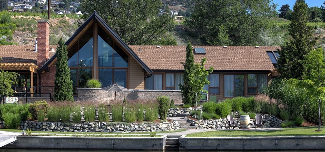 The Lake House at Quails' Gate the perfect Okanagan Getaway