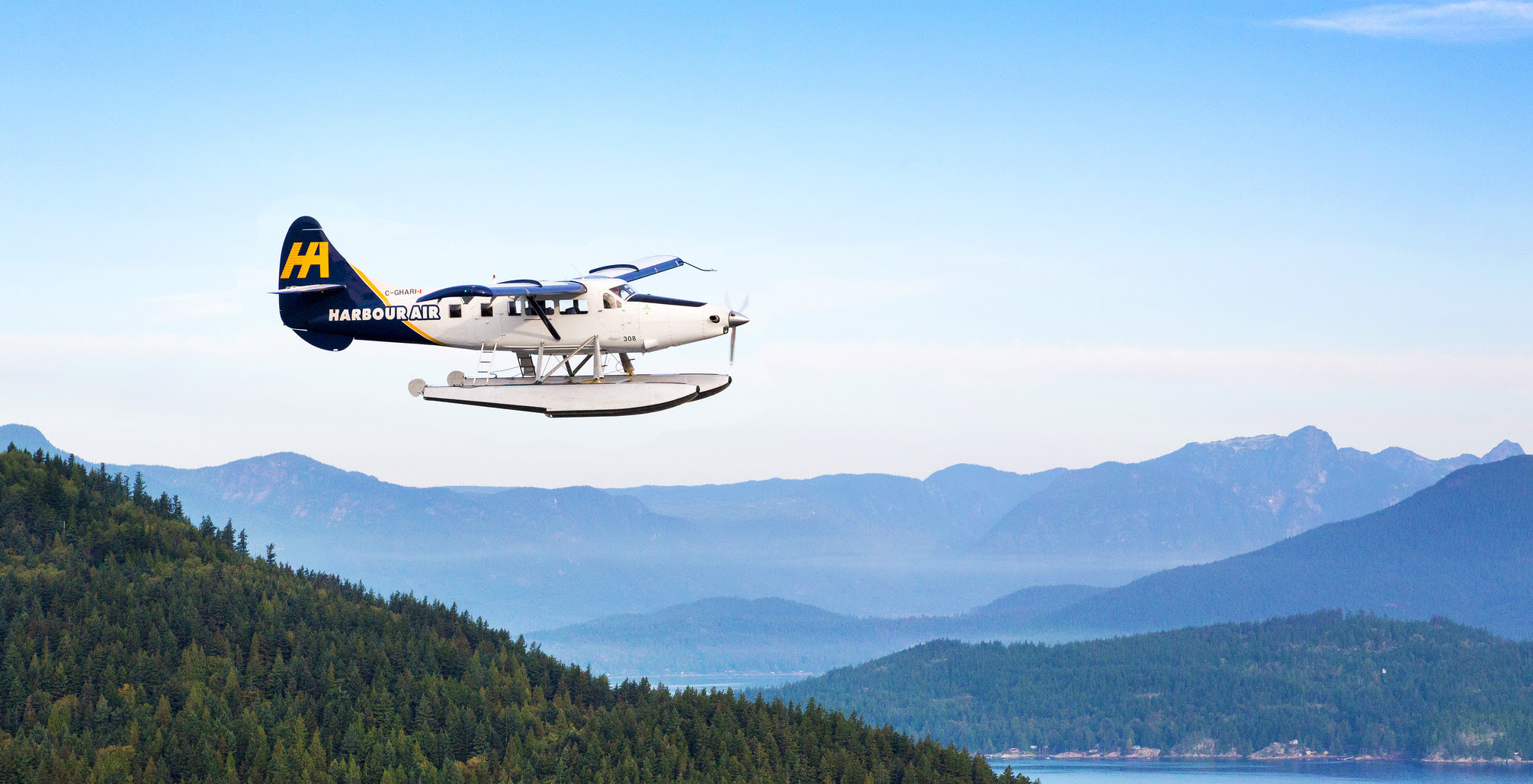 Fly direct to the heart of Tofino with Harbour Air and Tofino Resort + Marina