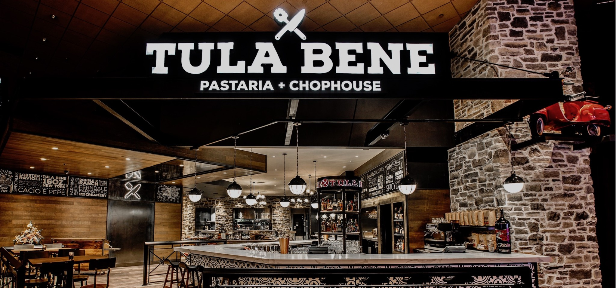 TULALIP RESORT CASINO UNVEILS THEIR NEWEST DINING VENUE  TULA BENE PASTARIA + CHOPHOUSE