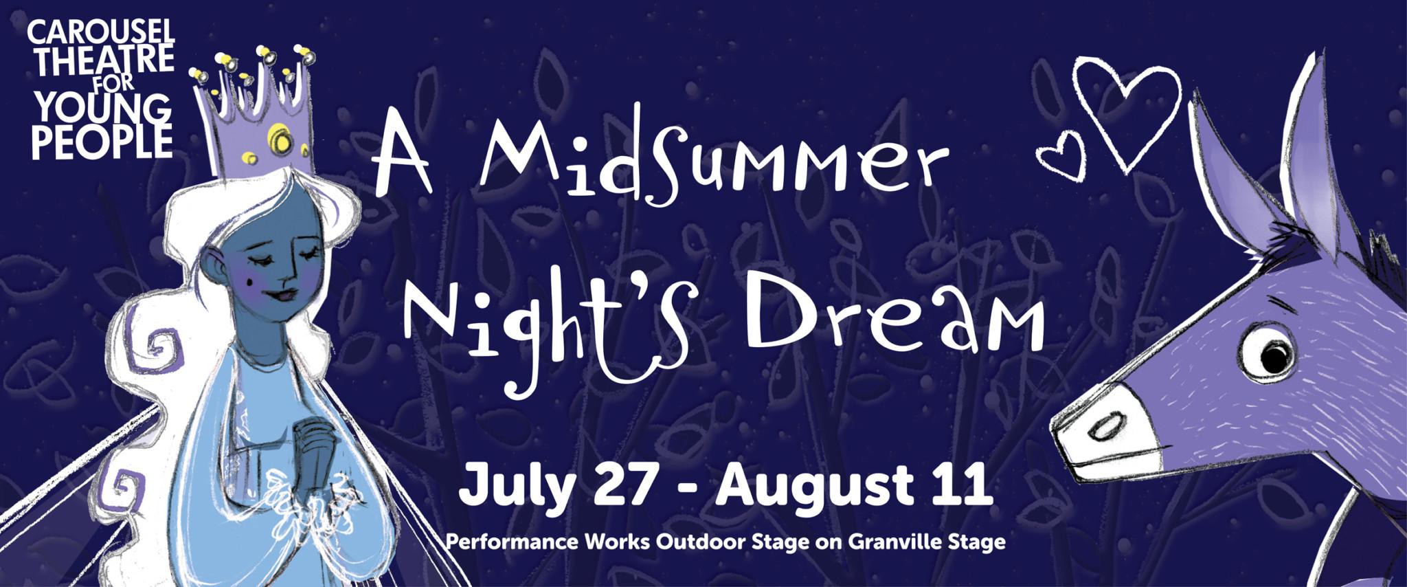 A Midsummer Night's Dream – A Teen Shakespeare Play