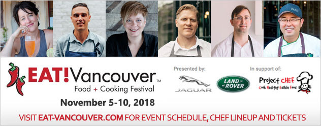 Indulge Your Taste Buds With EAT! Vancouver This Fall