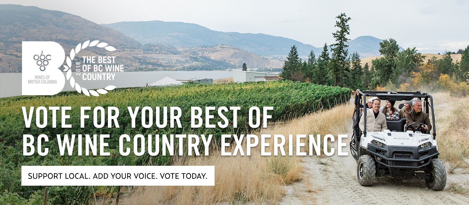 Best of BC Wine Country Awards means a chance to be a winner!