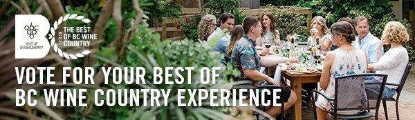 Best of BC Wine Country Awards – Visit and Vote and you could be a winner!