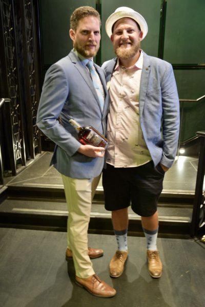 Winner Shane Ely with Alex Black