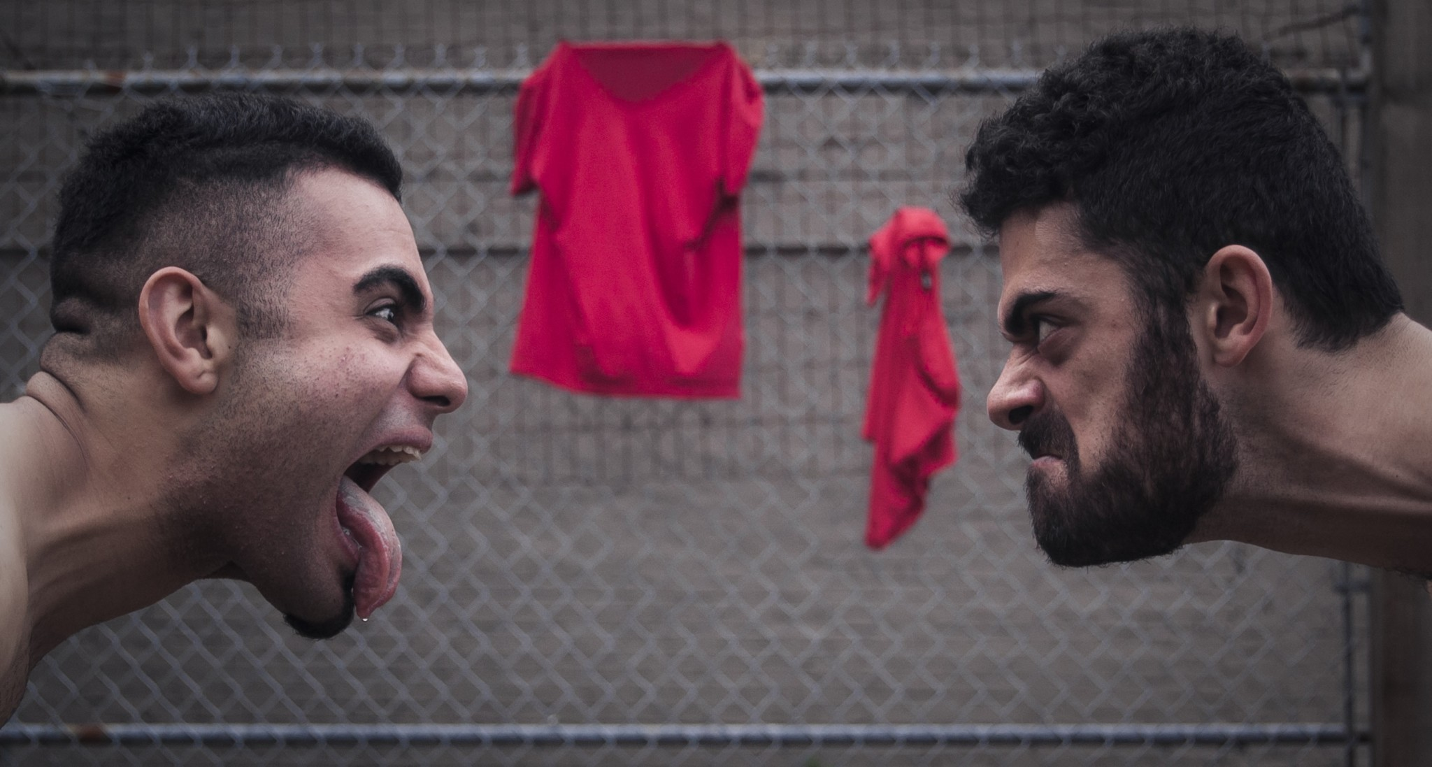 The Firehall Arts Centre Presents… CAIN AND ABEL The Biting School | Arash & Aryo Khakpour