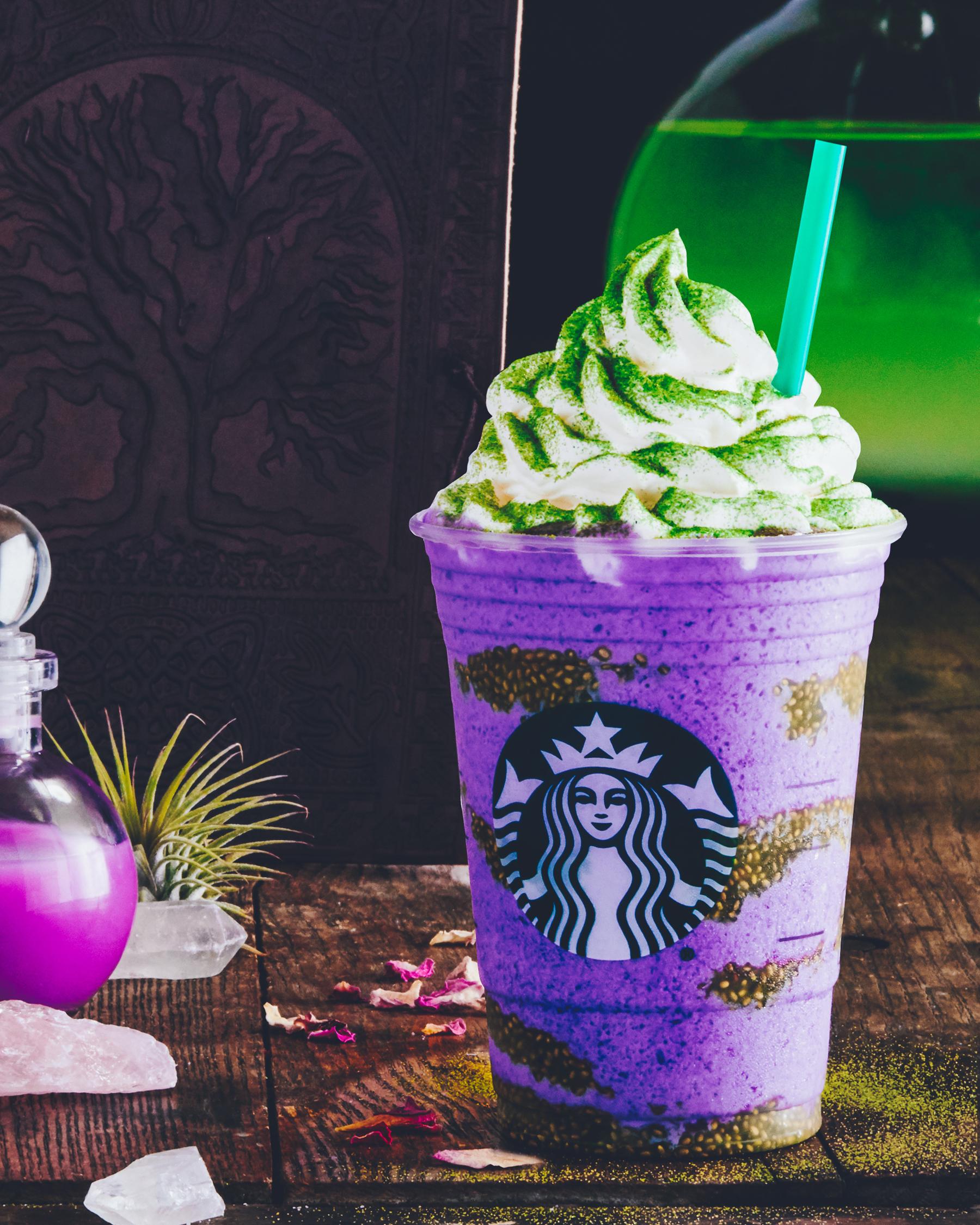 NEW at Starbucks Canada: Toad's Breath and Bat Warts?