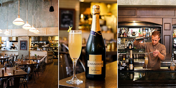 Café Medina Marks New Partnership with Domaine Chandon with Exclusive Launch Party and Dinner on Monday, November 5