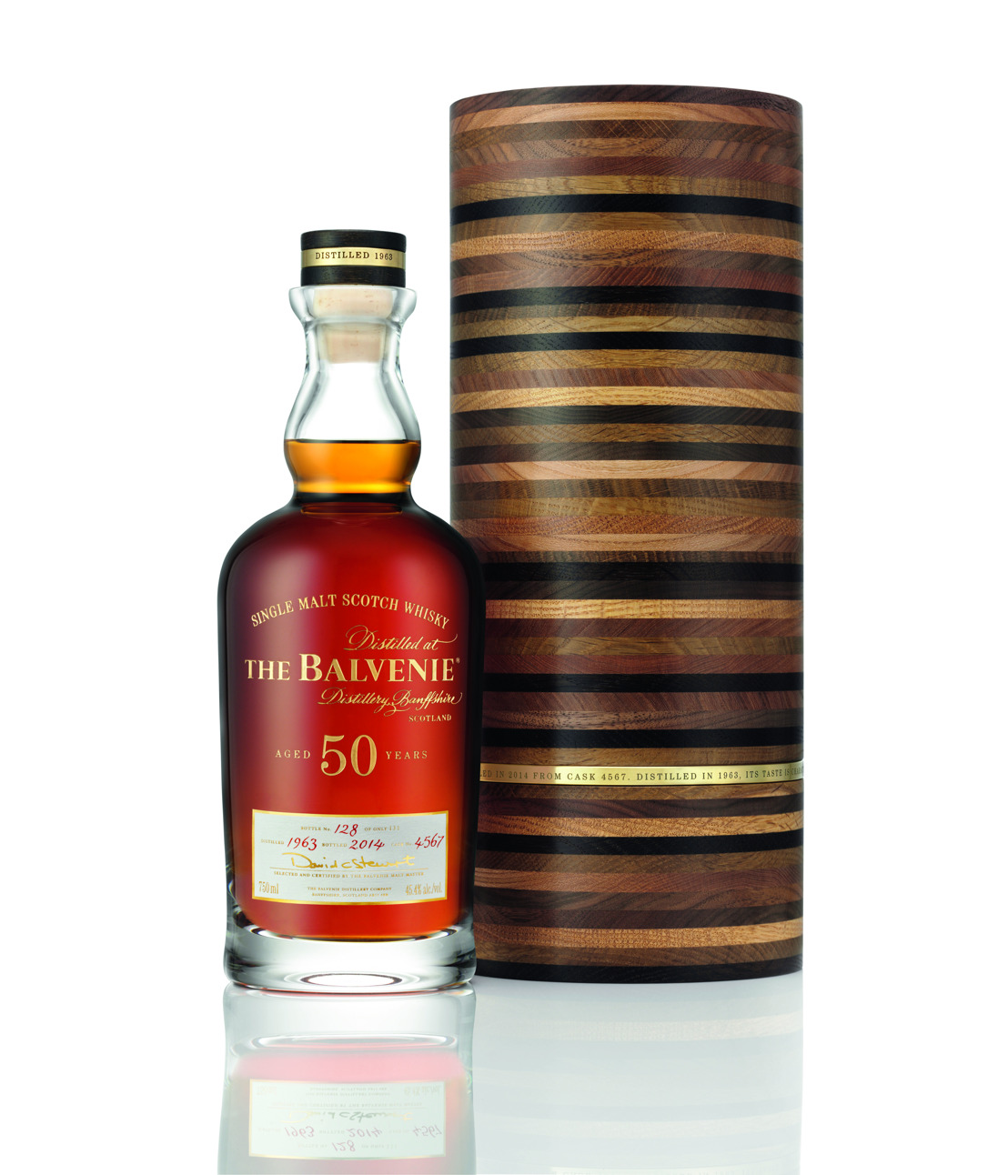 Exceptionally Crafted, The Balvenie Fifty: Marriage 0962 Announces it's arrival to Canada in time for the Holiday Season