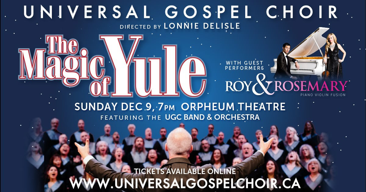 The Magic of Yule with Guest Performers Roy & Rosemary December 9