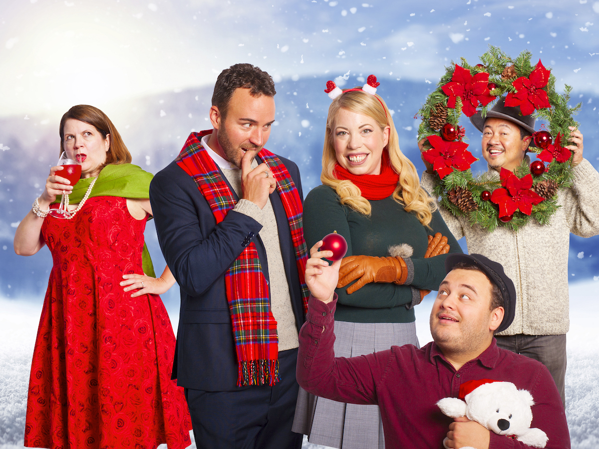 Merry Kiss-mas – A Fabulous New Holiday Tradition from Vancouver TheatreSports