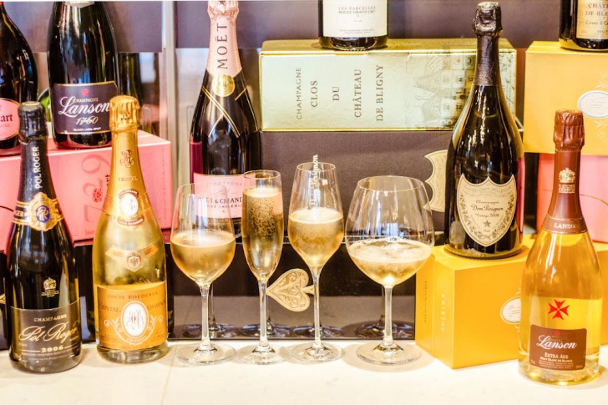 Bubbly at Provence Marinaside helps to make the season bright