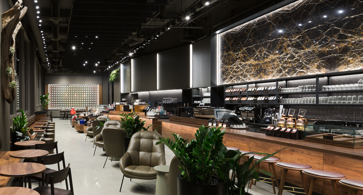 Coffee takes Centre Stage at New Starbucks Reserve® Bar