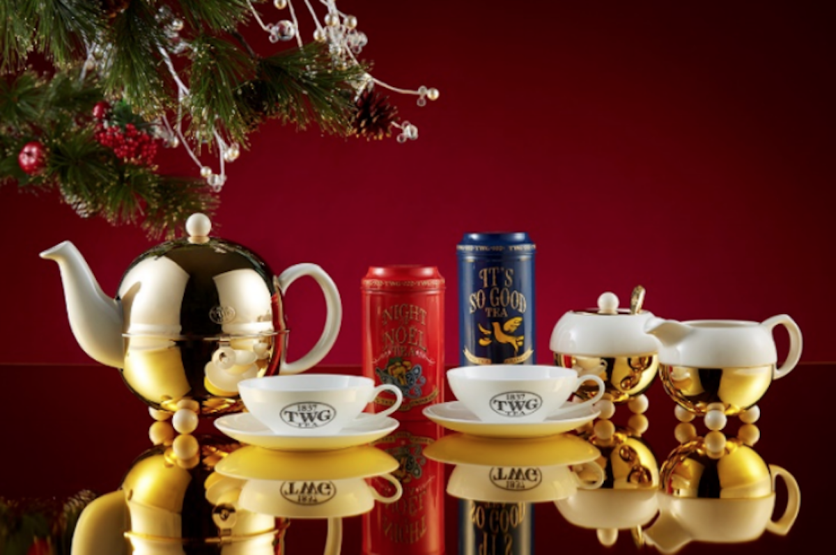 Enjoy the Festive Set Menu at TWG Tea Canada