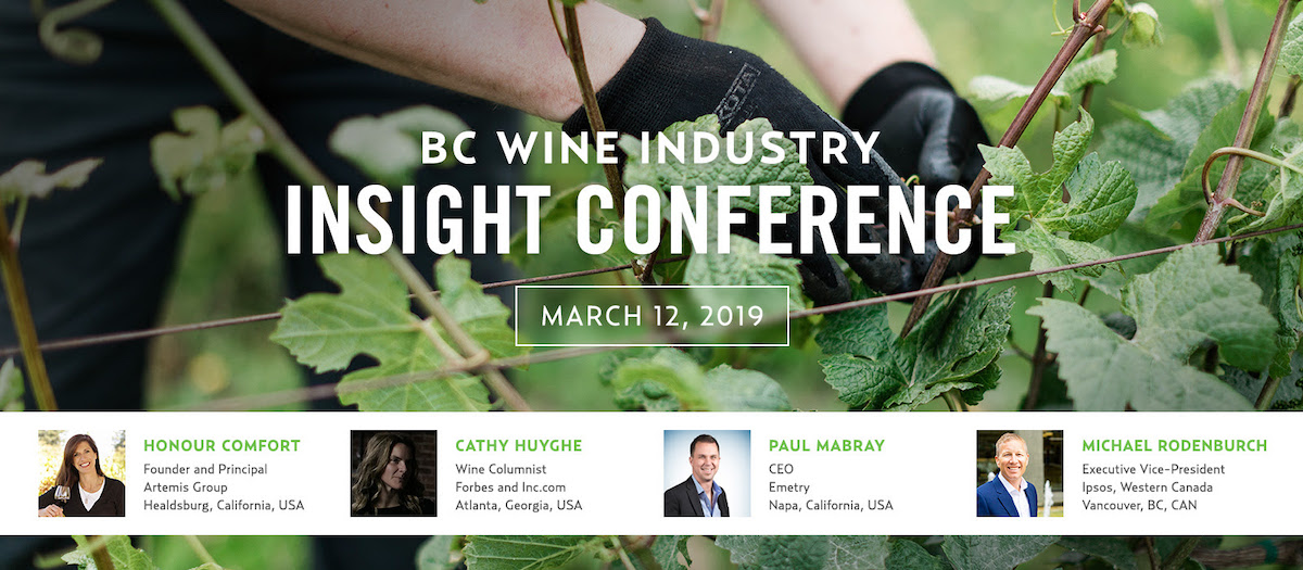 Don't wait to register! BC Wine Industry Insight Conference