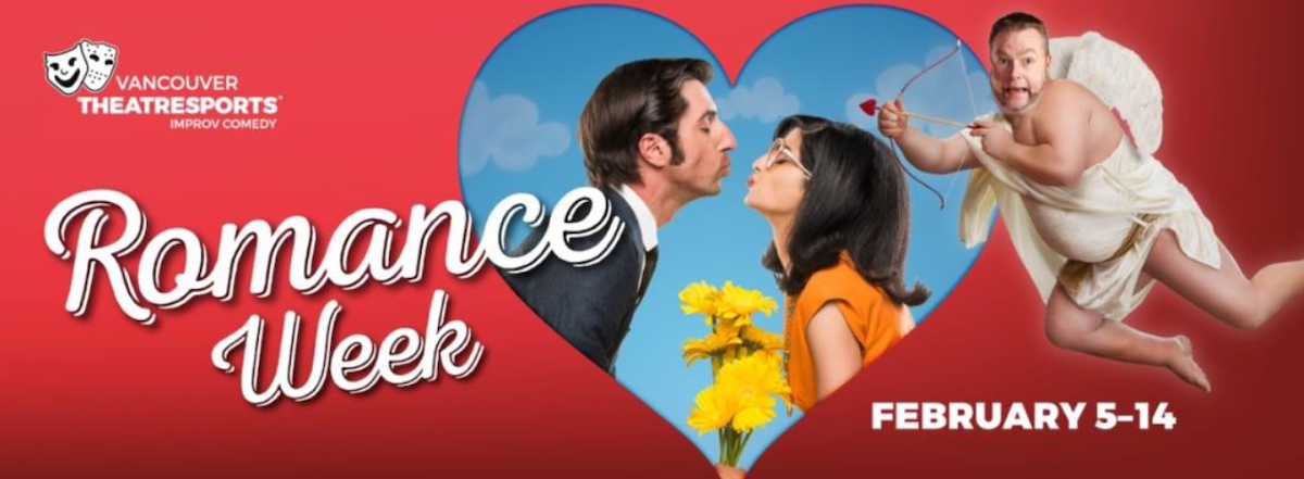 Vancouver TheatreSports™ Presents Romance Week February 5-14 at The Improv Centre