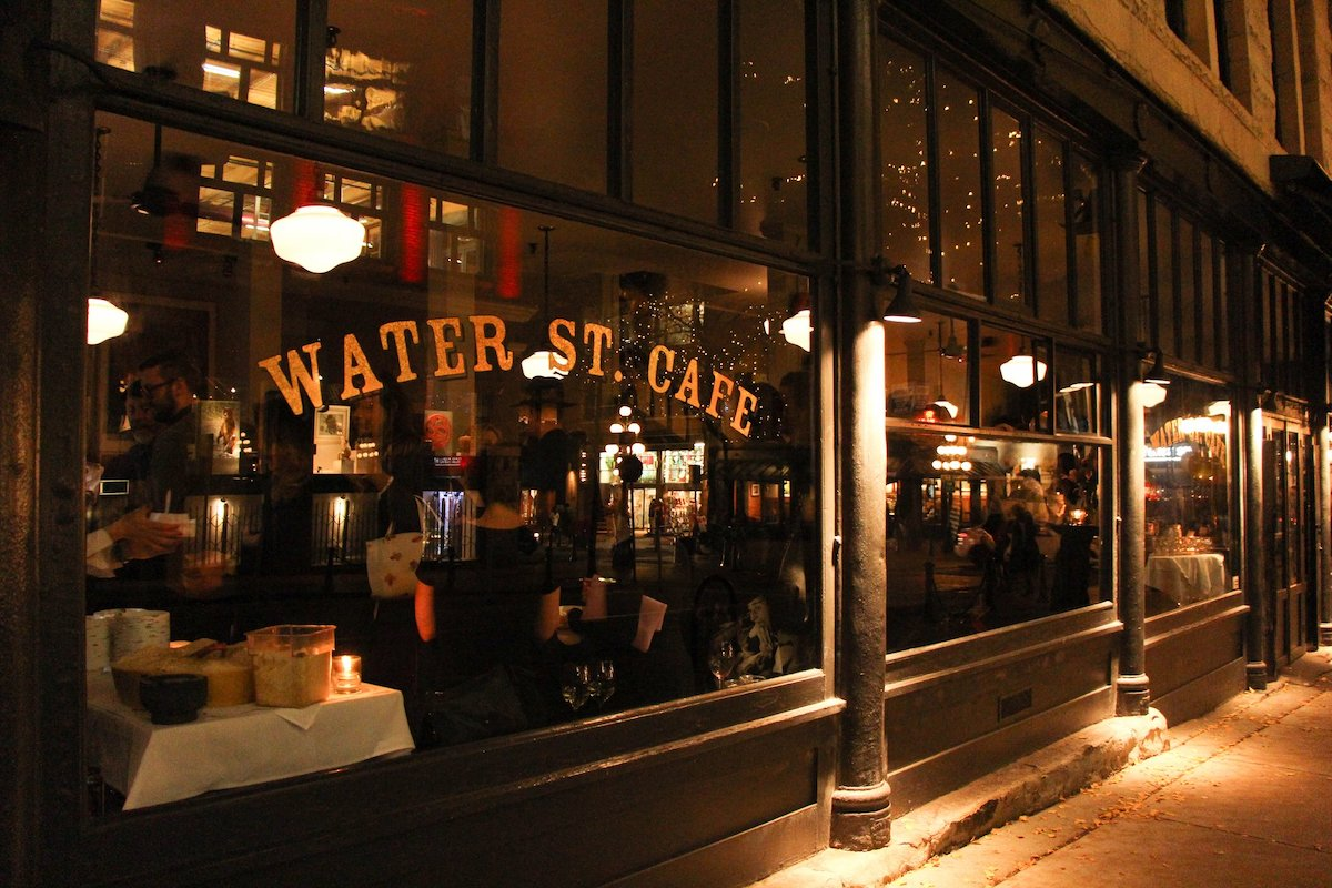 Painted Rock Wine Dinner hosted by Water Street Cafe February 7th