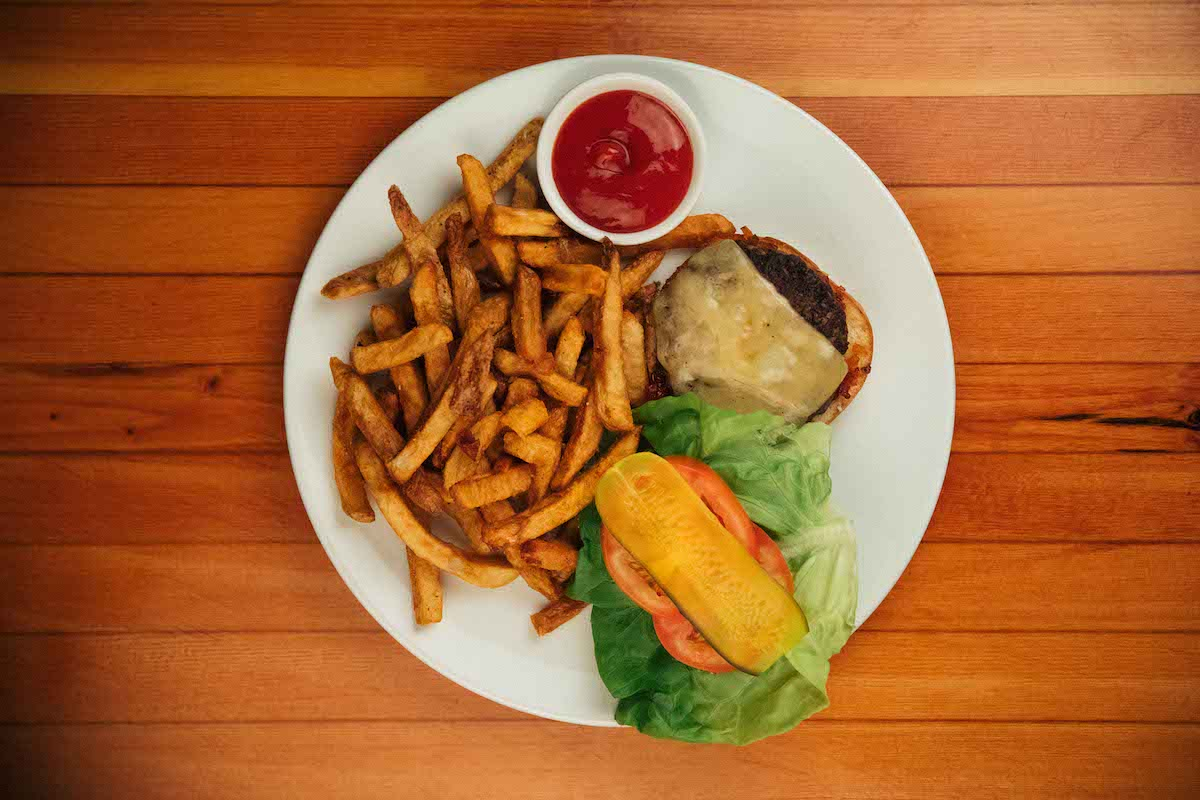Start your week off right with Mamie Taylor's Burger & Beer