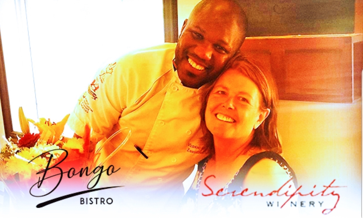 Chef Bongo opens Second Restaurant in Naramata!