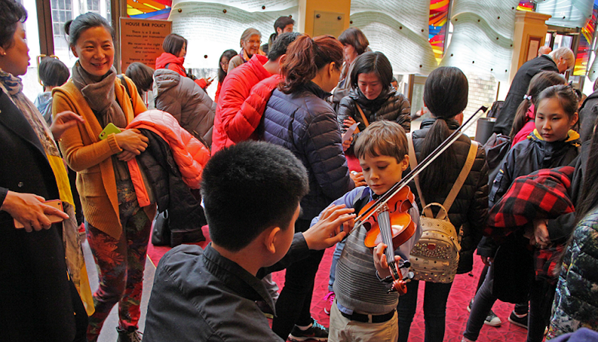 The VSO & YWCA Metro Vancouver Present: Family Fun Day at the Symphony. Portion of Proceeds to Benefit YWCA Crabtree Corner
