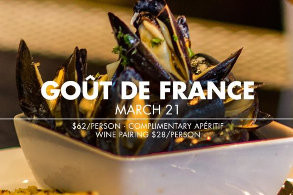 Provence Marinaside participates in Goût de France on March 21
