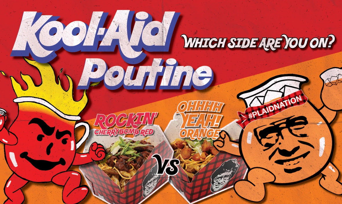 Kool-Aid Infused Poutine is a Game Changer in Canada!