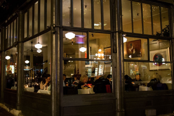 Hillside Wine Dinner hosted by Water Street Cafe on March 28