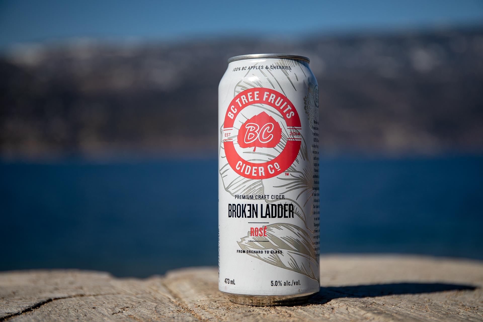 BC Tree Fruits Cider Company Launches Broken Ladder Rose Premium Craft Cider