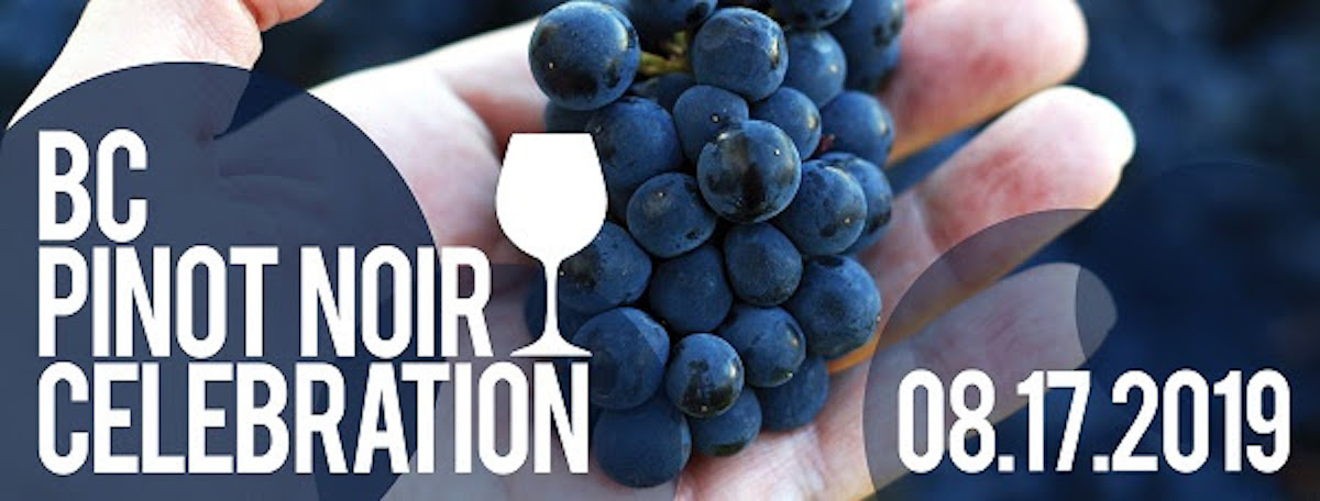 BC Pinot Noir Celebration Brings 35 Top Pinot ProducersTogether With Seven of BC's Best Chefs this August in Kelowna!