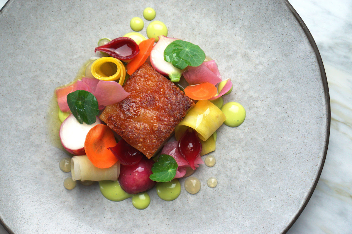 Spring flavours arrive at Hawksworth Restaurant