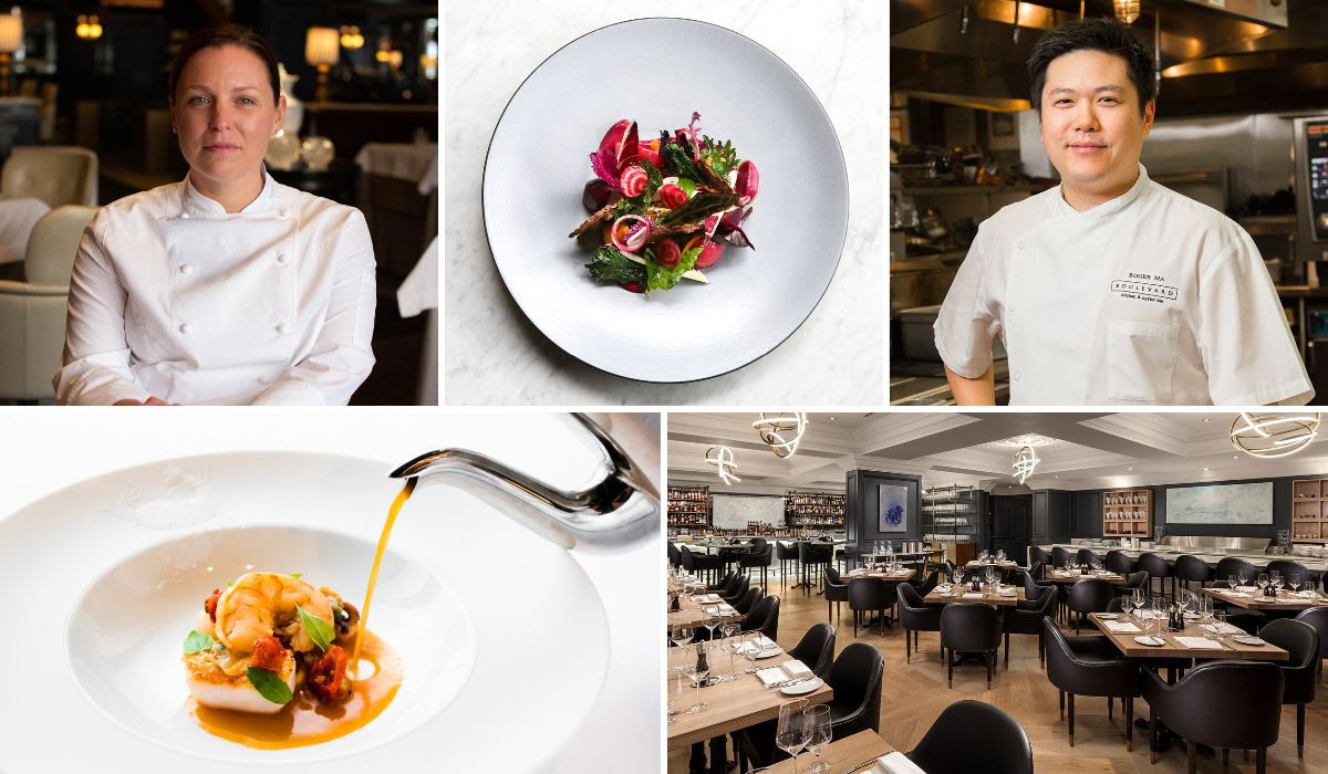 Boulevard Hosts MICHELIN on the Road™ Dinner with New York's Del Posto, June 27