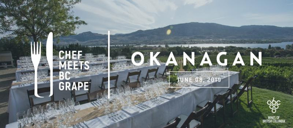 Third Annual Chef Meets BC Grape Taste of the Okanagan on June 8 Brings 50 BC Wineries Together with 12 Top Chefs from BC and Alberta