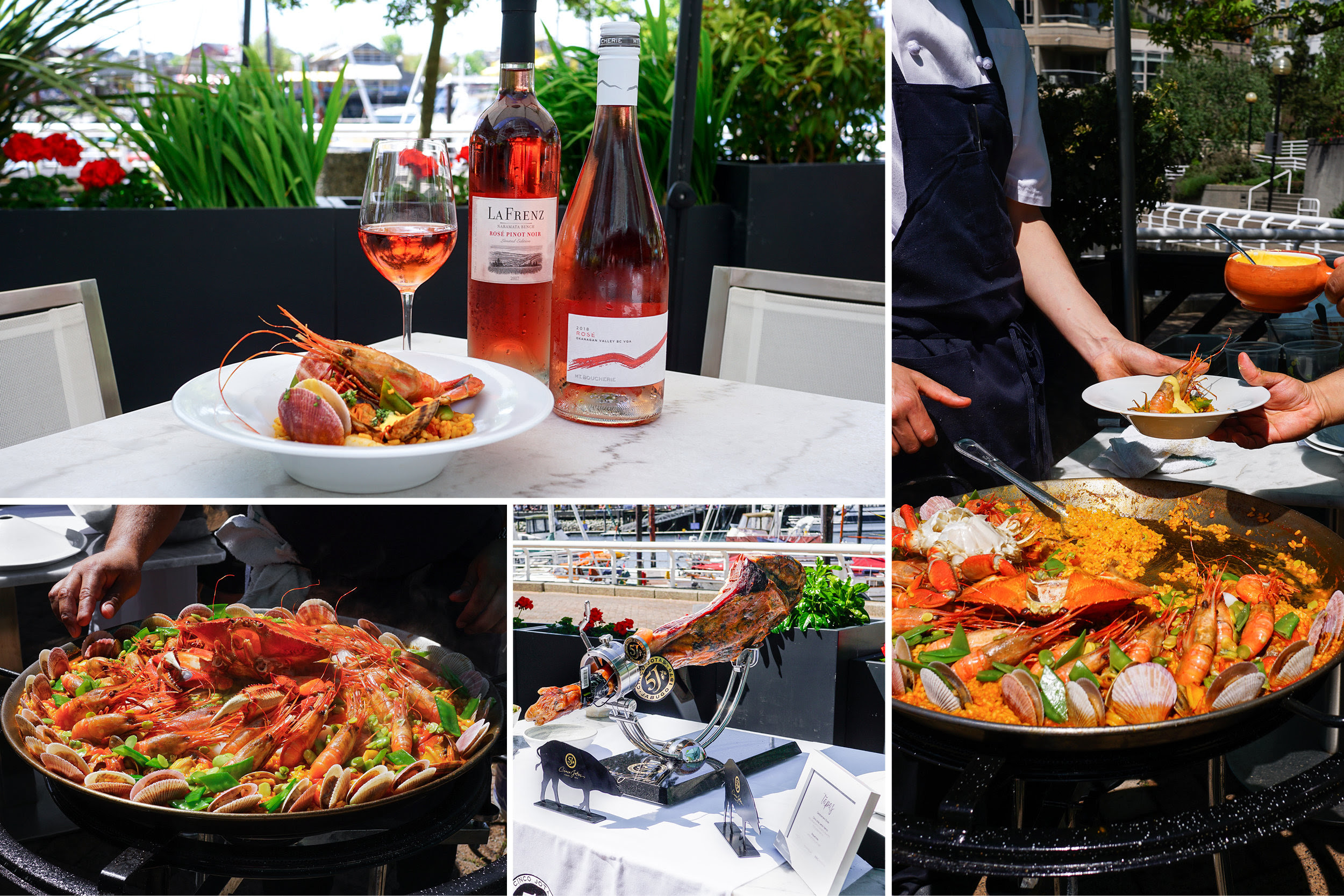 Ancora Waterfront Dining and Patio Hosts Dual Paella and Rosé Patio Parties, June 8