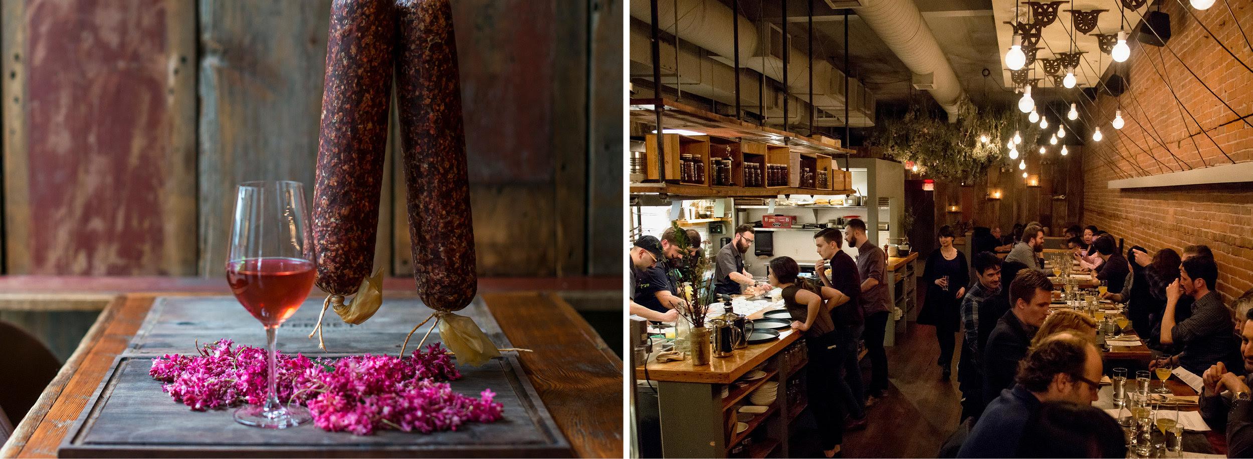 Wildebeest Brings Back Popular 'Pink Links' Sausage-and-Rosé