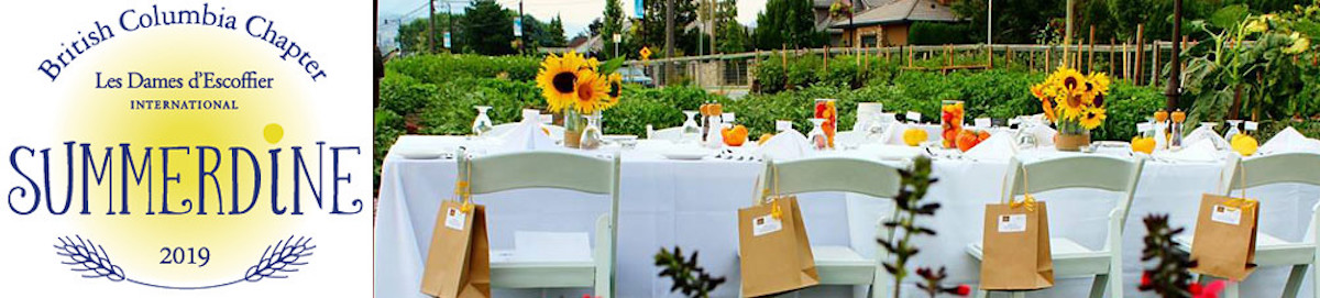 Les Dames Summerdine: province-wide dinner parties coming in August
