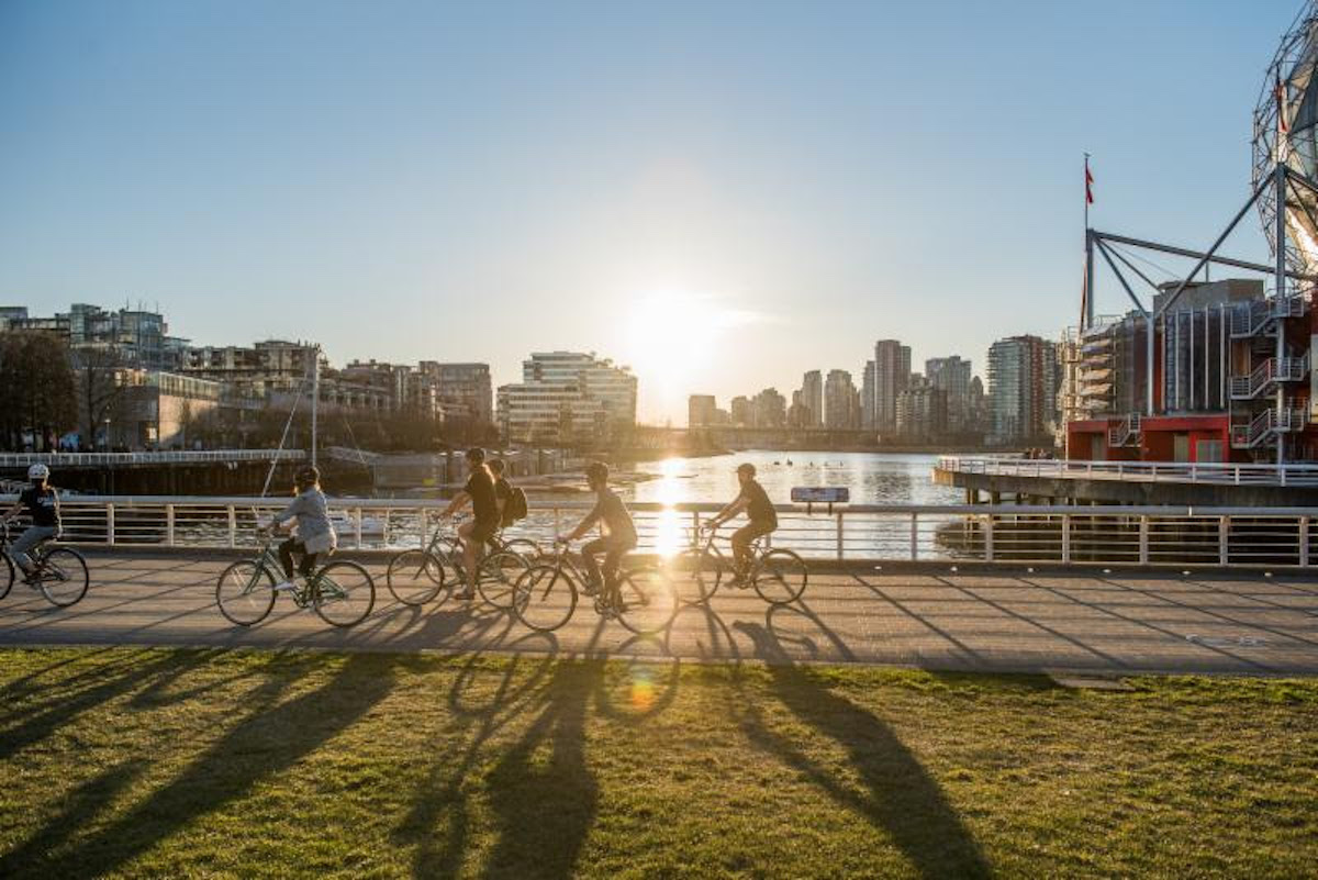 Cruise into Summer with Cycle City Vancouver's New Sunset and City Lights Night Bike Tour