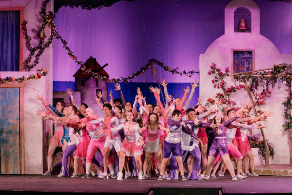 TUTS presents  Mamma Mia – A Magical Night, Rain or Shine – a review by Sylvia Pritchard