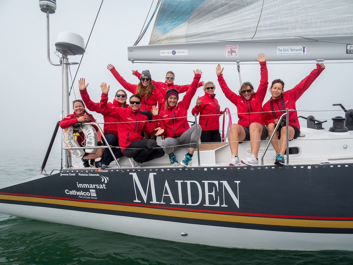 Iconic Yacht Maiden arrives from Honolulu to Vancouver July 27th