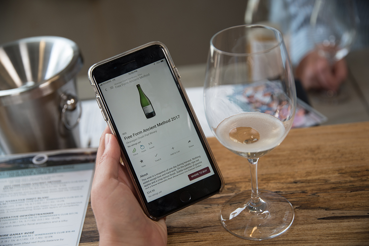 TasteAdvisor launches new app for BC wine