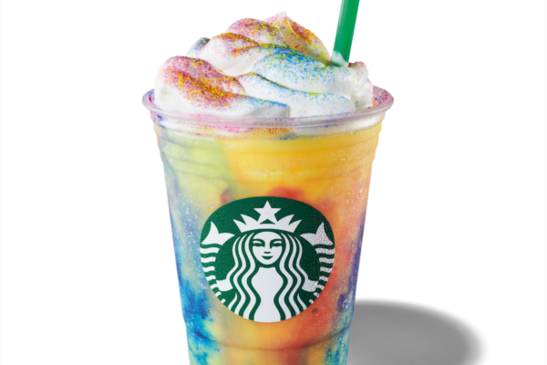Starbucks Launches New Tie Dye Frappuccino(R) Blended Beverage
