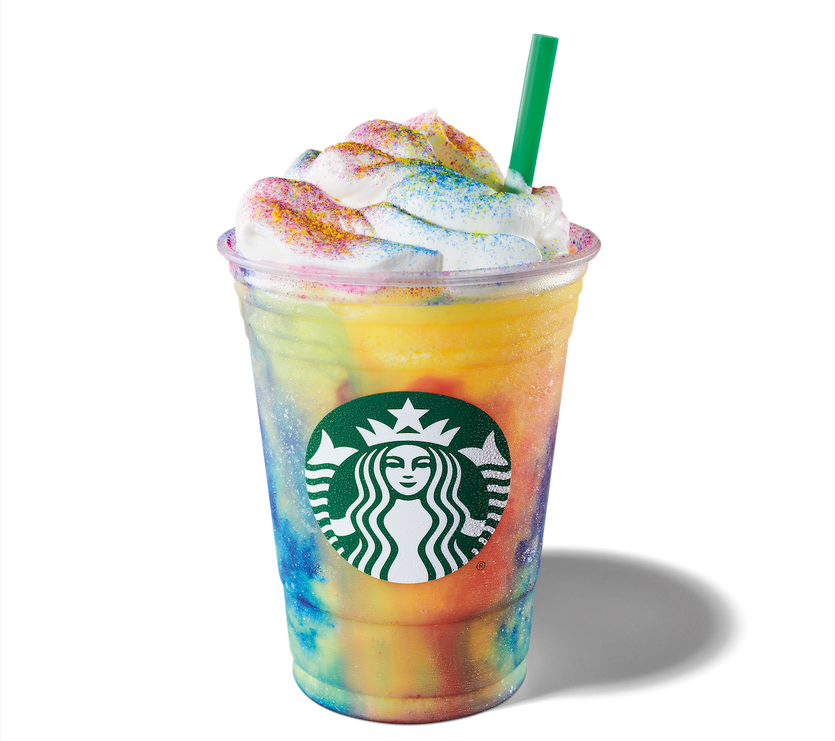 Starbucks Launches New Tie Dye Frappuccino R Blended