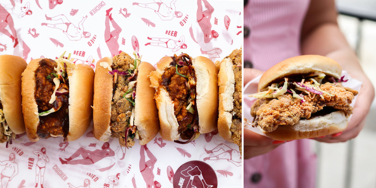 Juke Fried Chicken Celebrates National Fried Chicken Day on July 6 by Offering Half-Priced Chicken Sandwiches