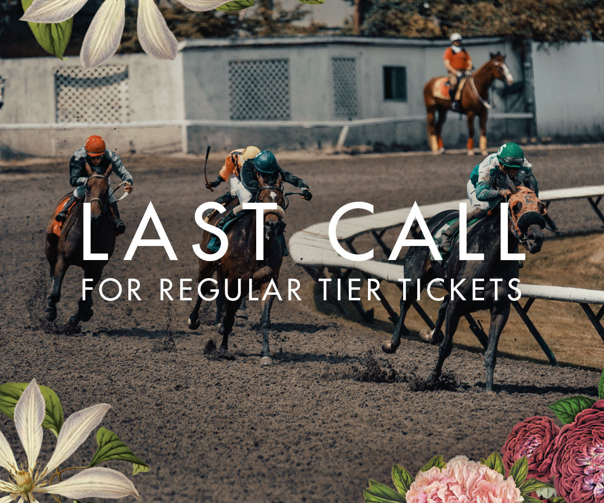 Don't be disappointed, a limited number of tickets available – Deighton Cup July 20