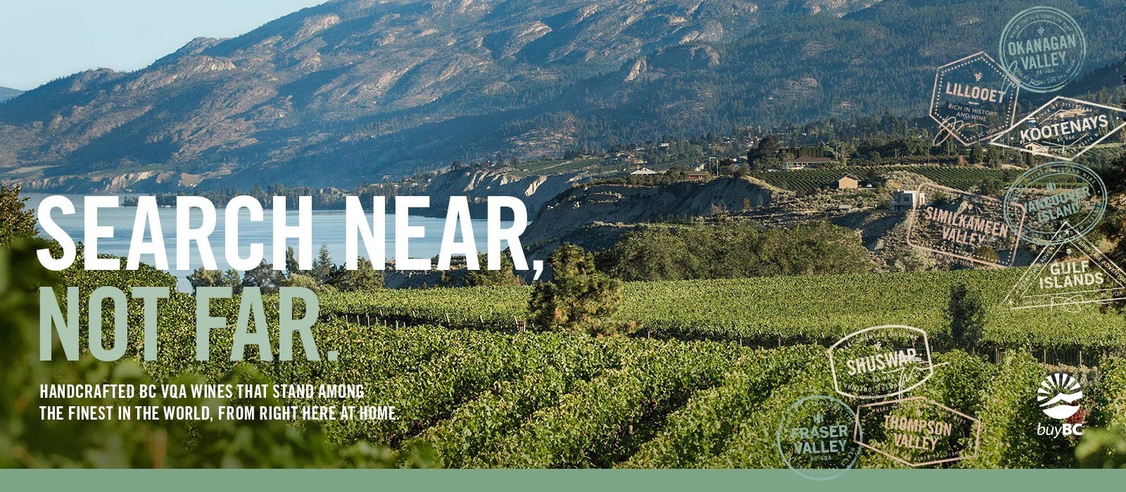 """WINES OF BRITISH COLUMBIA LAUNCH """"SEARCH NEAR NOT FAR"""" & """"LOOK WHO'S POURING MORE BC"""" CAMPAIGN. July 29, 2019"""