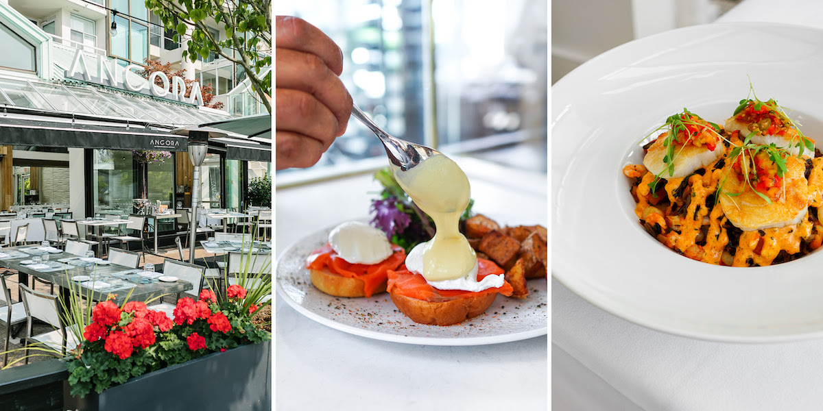 Ancora Waterfront Dining and Patio Debuts New Brunch, Prix-Fixe Lunch and Cocktail Hour Menus