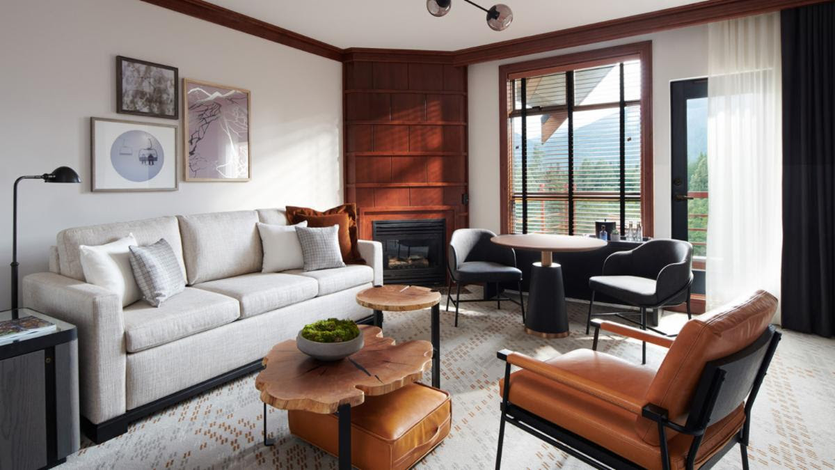Four Seasons Resort Whistler Debuts Modern Look – The Mountain Lodge, Reimagined
